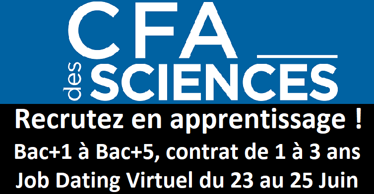 Job Dating Virtuel - CFA Sciences