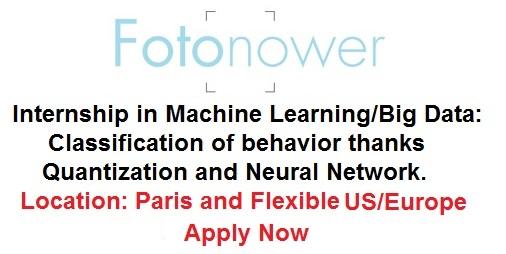 machine learning internships