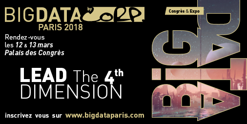 Big data paris 2018 ne manquez pas l 39 v nement leader du - Salon big data paris ...