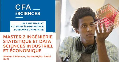 Master 2 Ingénierie Statistique et Data Sciences (ISDS)