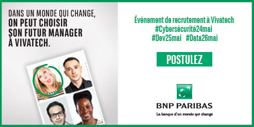 AfterWork Recrutement BNP Paribas - 5 avril 2018