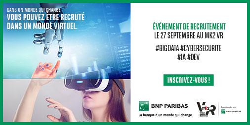AfterWork Recrutement BNP Paribas -