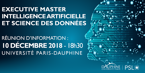 Executive Master Intelligence Artificielle et Science des Données - Université Paris Dauphine