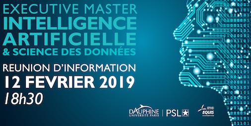 EM Intelligence Artificielle et Science des Données - Paris Dauphine