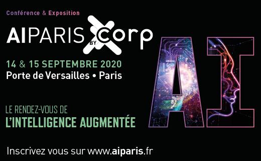 [Congrès AI Paris 2020 les 14 & 15 sept 2020] Ne manquez pas le rendez-vous Business de référence de l'#IntelligenceArtificielle en France ! @AI_EVENTS_