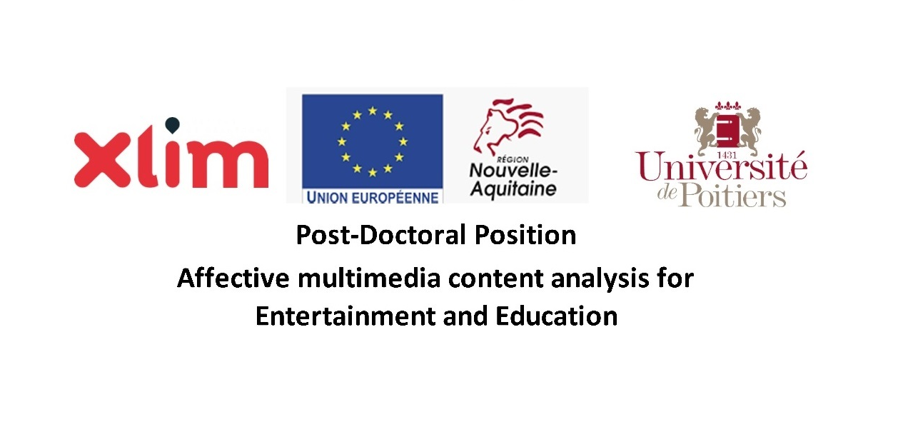 [Post-Doctoral #DataScientist #machinelearning -Sept 2021] - XLIM Laboratory - Universite de Poitiers - Apply now!